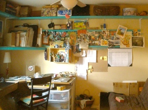 my art studio - after